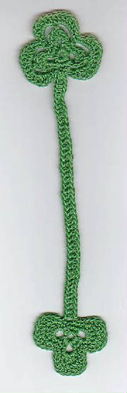 shamrocks bookmarker