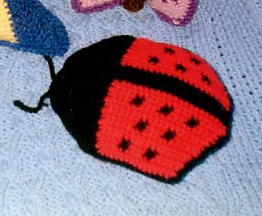 Ladybug Pillow Toy