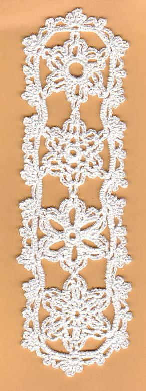 Snowflake bookmarker