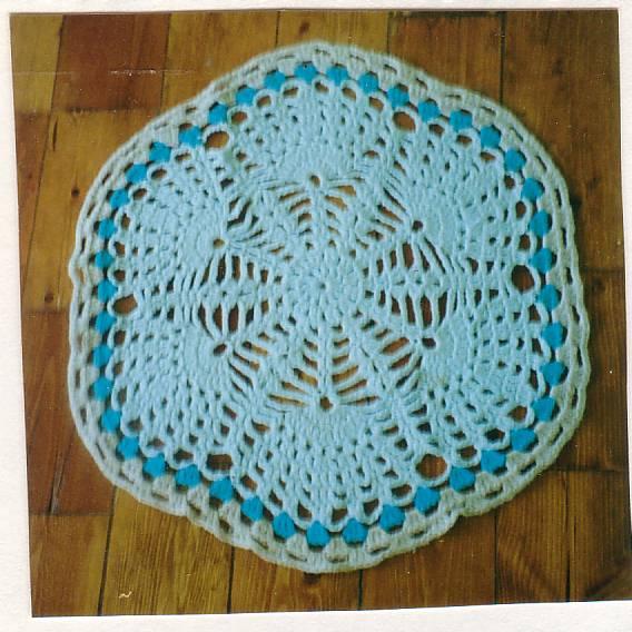Dianthus rug